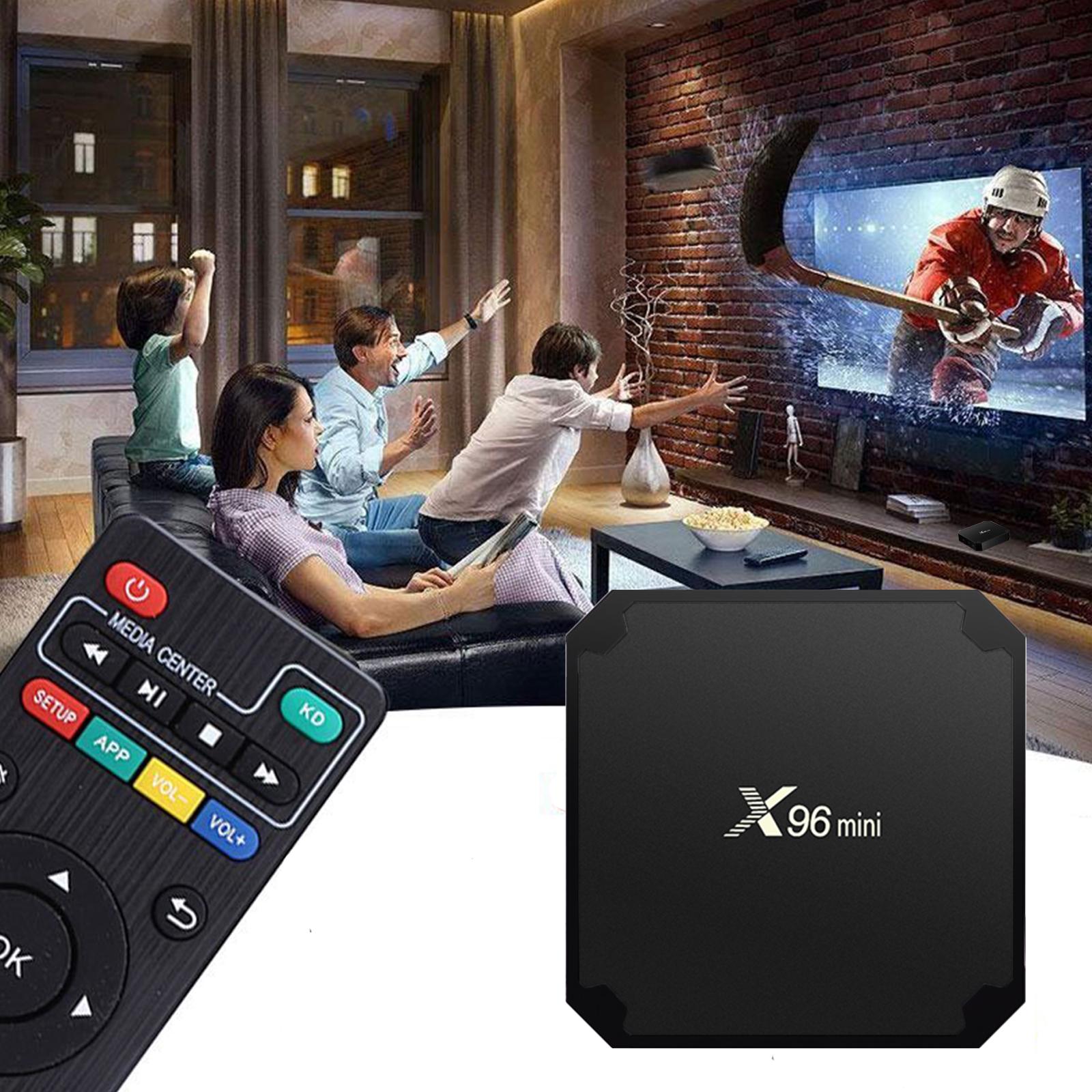 X96 Mini 1/8G + i8 Keyboard Android 7 1 Smart Tv box kodi 17 4 Wifi