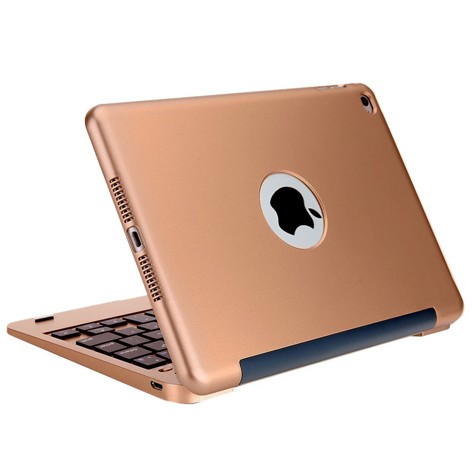 rose gold wireless bluetooth 4 0 keyboard ultra thin case cover for ipad mini4 ebay. Black Bedroom Furniture Sets. Home Design Ideas