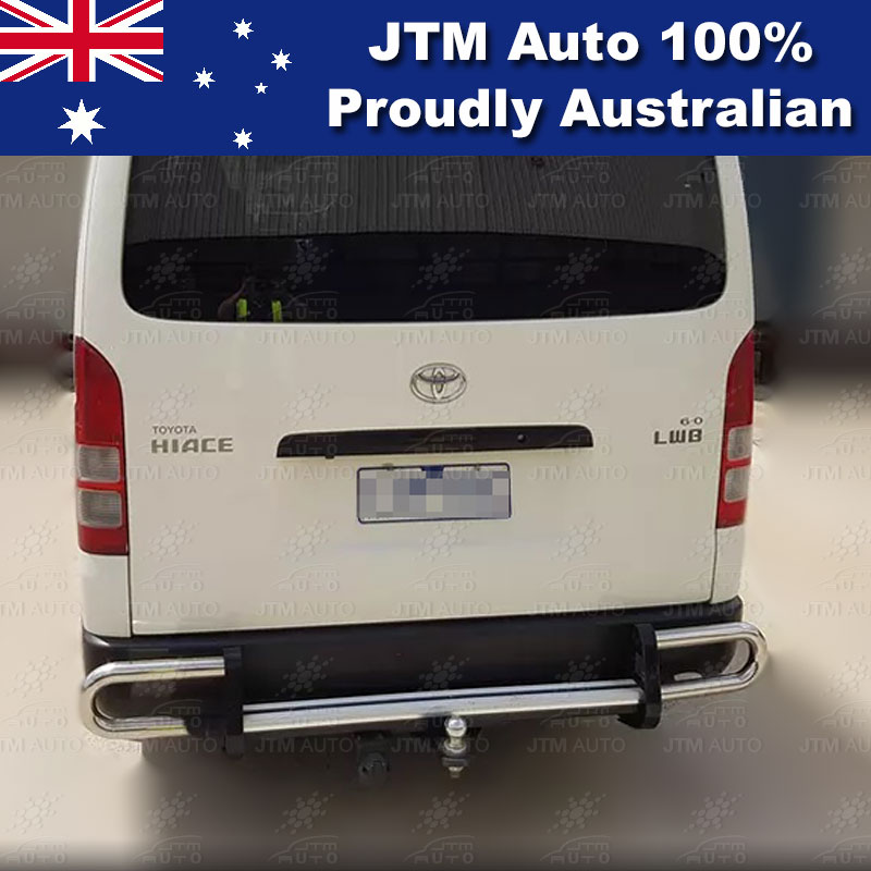 Rear Step Bumper TOWBAR Tow Bar OEM Suitable For Toyota Hiace LWB 2005-2018
