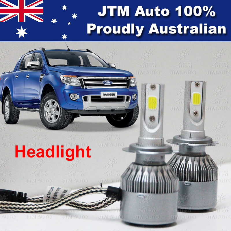 Headlight HIGH LOW BEAM LED CONVERSION KITS to suit FORD RANGER PX MK1 2012-2014