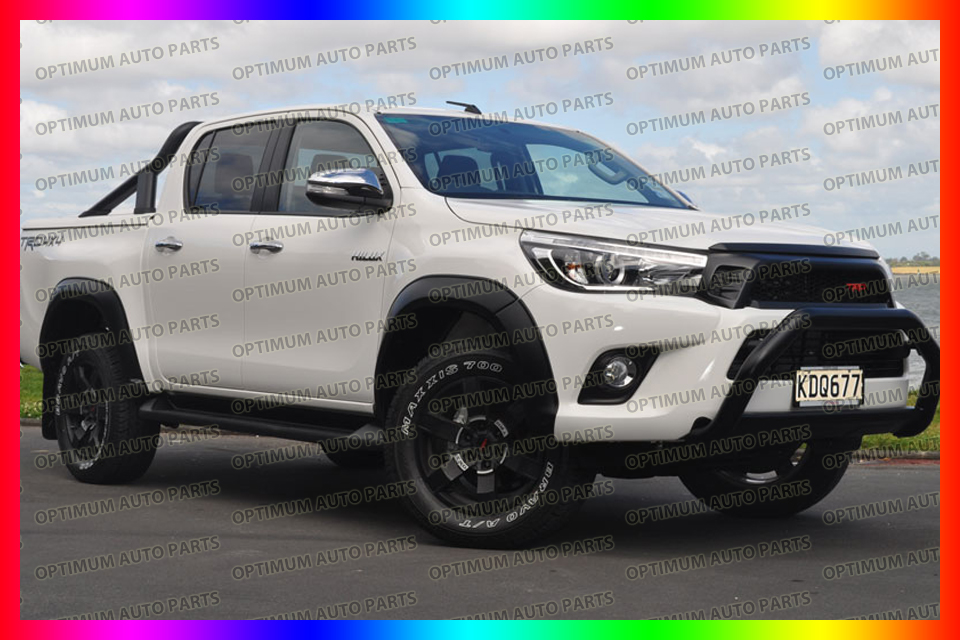 What Does Trd Stand For >> Matte Black Fender Flares Wheel Arch To Suit Toyota Hilux ...