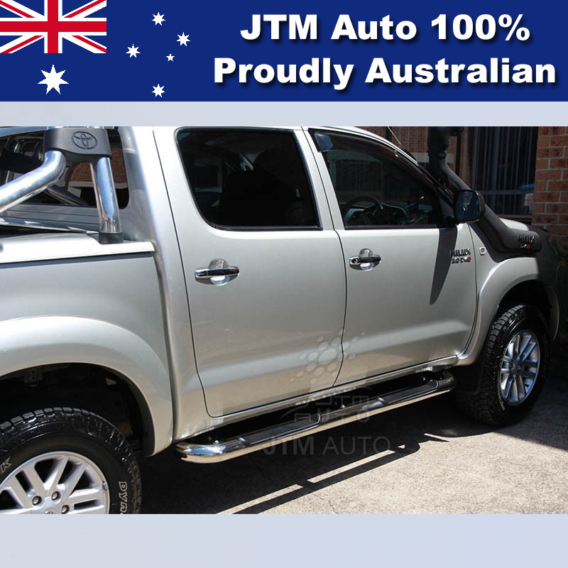 Side Steps 3 Inchs Stainless Steel Running Board Suitable For Toyota Hilux 2005-2015