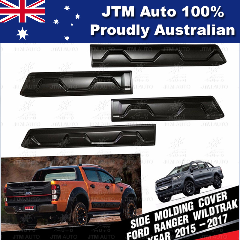 Side Door Body Molding Cladding Trim to suit Ford Ranger PX PX2 2012-2018
