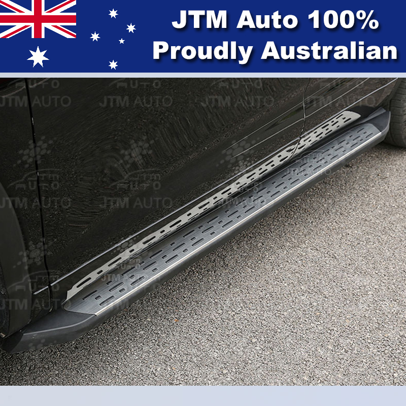 Running Boards Side Steps Aluminium to suit Toyota Kluger 2014 2015 2016 2017