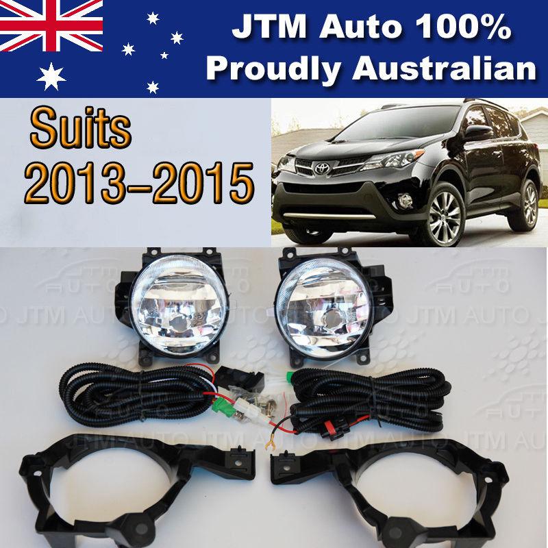 Driving/Fog Lights Lamps Complete Kit suitable for Toyota Rav4 2013-2015