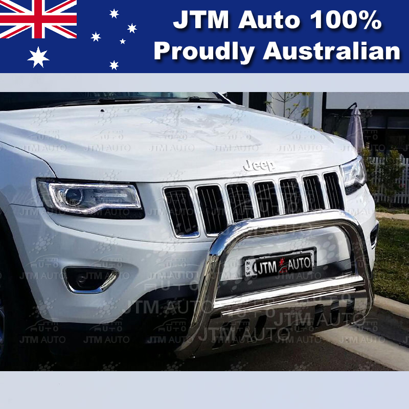 """Stainless Steel Nudge Bar 3"""" Grille Guard to suit Jeep Grand Cherokee 2011-2017"""