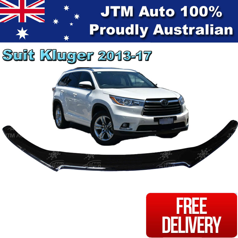 Bonnet Protector Tint Guard suitable for Toyota Kluger 2013-2017