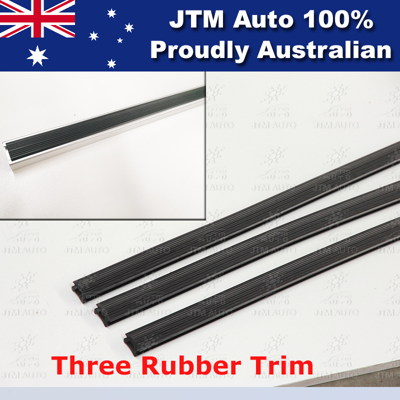 3 X HEAVY DUTY ADJUSTABLE ROOF RACKS to suit Toyota Hiace LWB HIACE 2005-2018