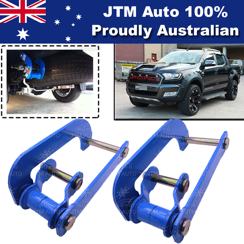 Rear Leaf Alloy Spring G Shackle Shackles to suit Ford Ranger 2012-2018