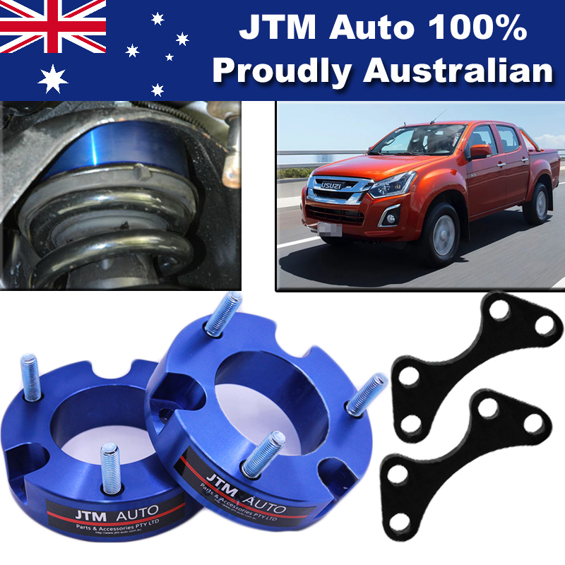 32mm Aluminium Shock Spacer Adapter Lift Up Kit for Isuzu D-max Dmax 2012-2018