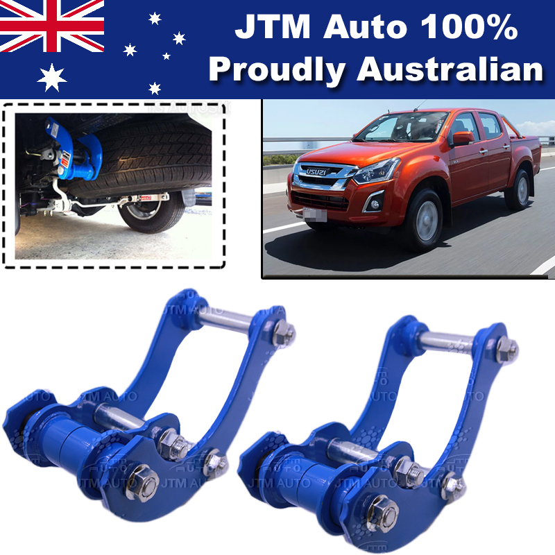 Rear Leaf Alloy Spring G Shackle Shackles to suit Isuzu D-max Dmax 2012-2018