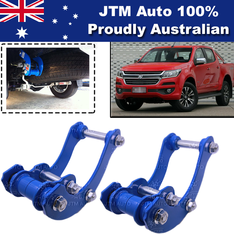 Rear Leaf Alloy Spring G Shackle Shackles to suit Holden Colorado 2012-2018