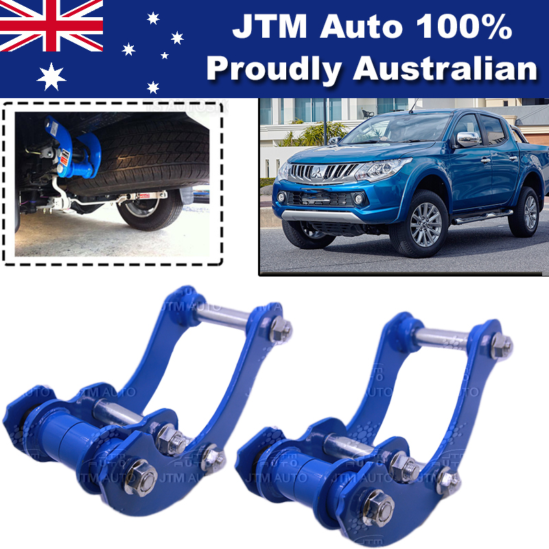 Rear Leaf Alloy Spring G Shackles to suit Mitsubishi Triton MQ 2015-2018