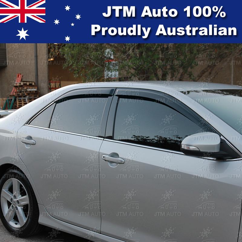 Weather Shield Weathershield Window Visor to suit Toyota Aurion 2012-2015