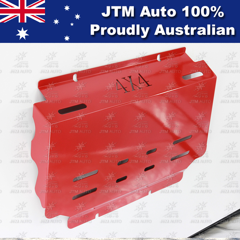 Bash Plate Front Sump Guard Red Protection to suit Ford Ranger 2012-2018