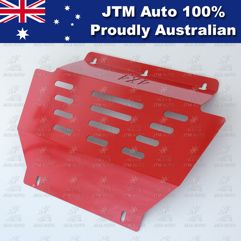 Bash Plate Front Sump Guard Red Protection For Holden Colorado 2012-2018