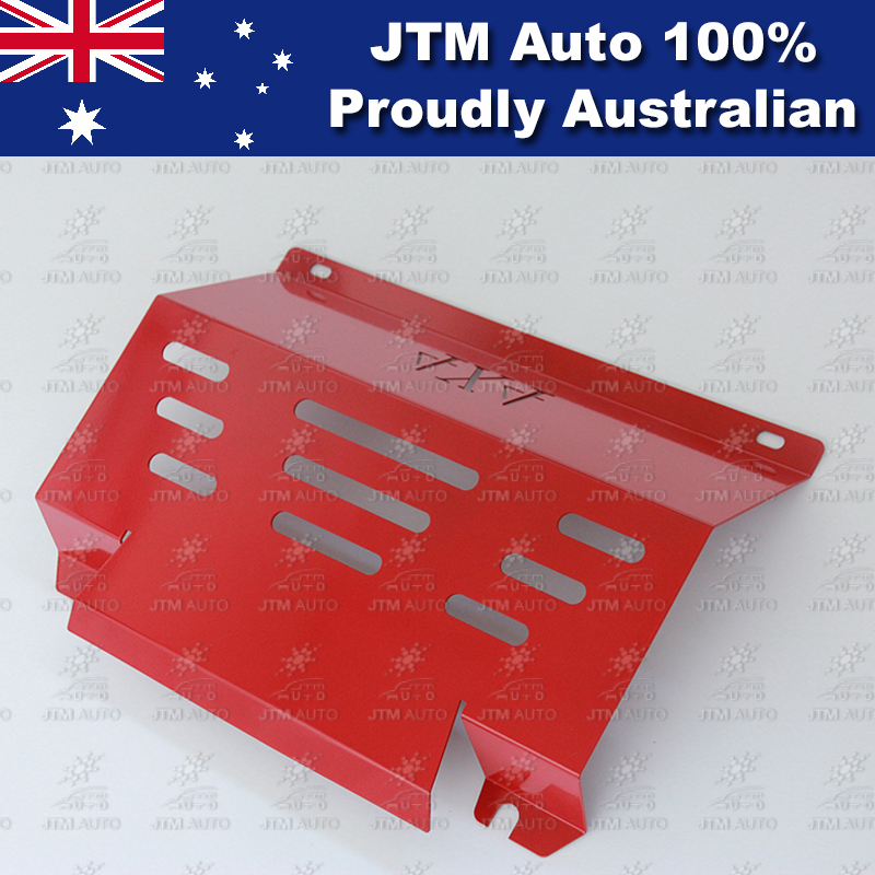 Bash Plate Front Sump Guard Red Protection For Mitsubishi Triton MQ 2015-2018