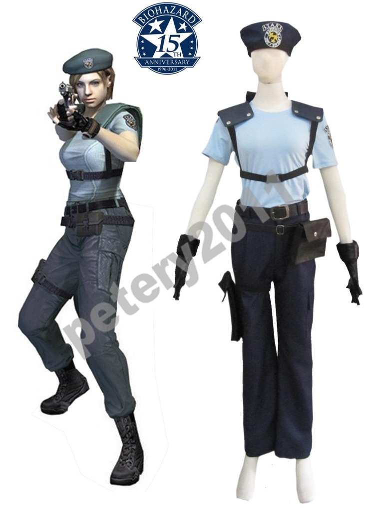 Custom Made Resident Evil 1 Jill Valentine S T A R S Uniform