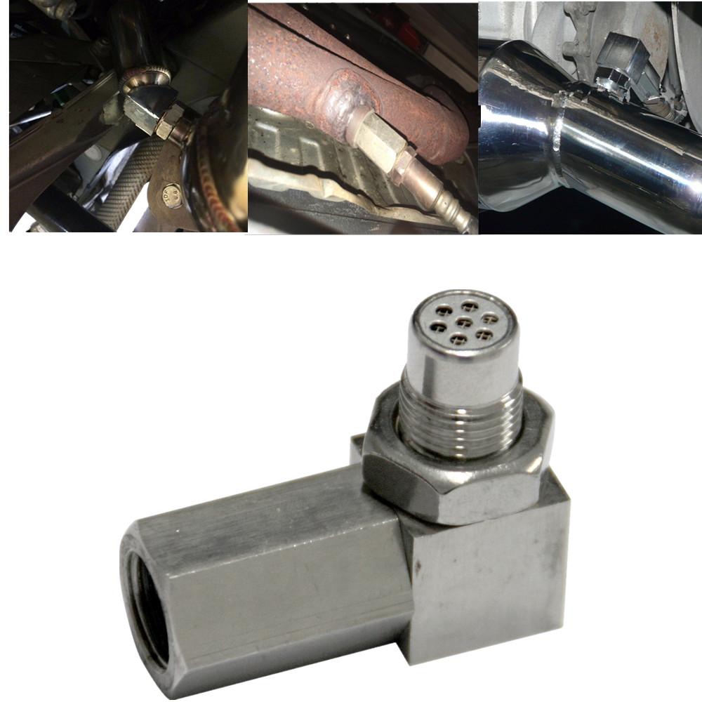 Ossigeno Auto O2 Sensor Adapter CEL Fix Controllo Motore di Luce Eliminator M18 1.5 Extender Fitting Adapter Eliminator Prova Tubo HH-CGQ