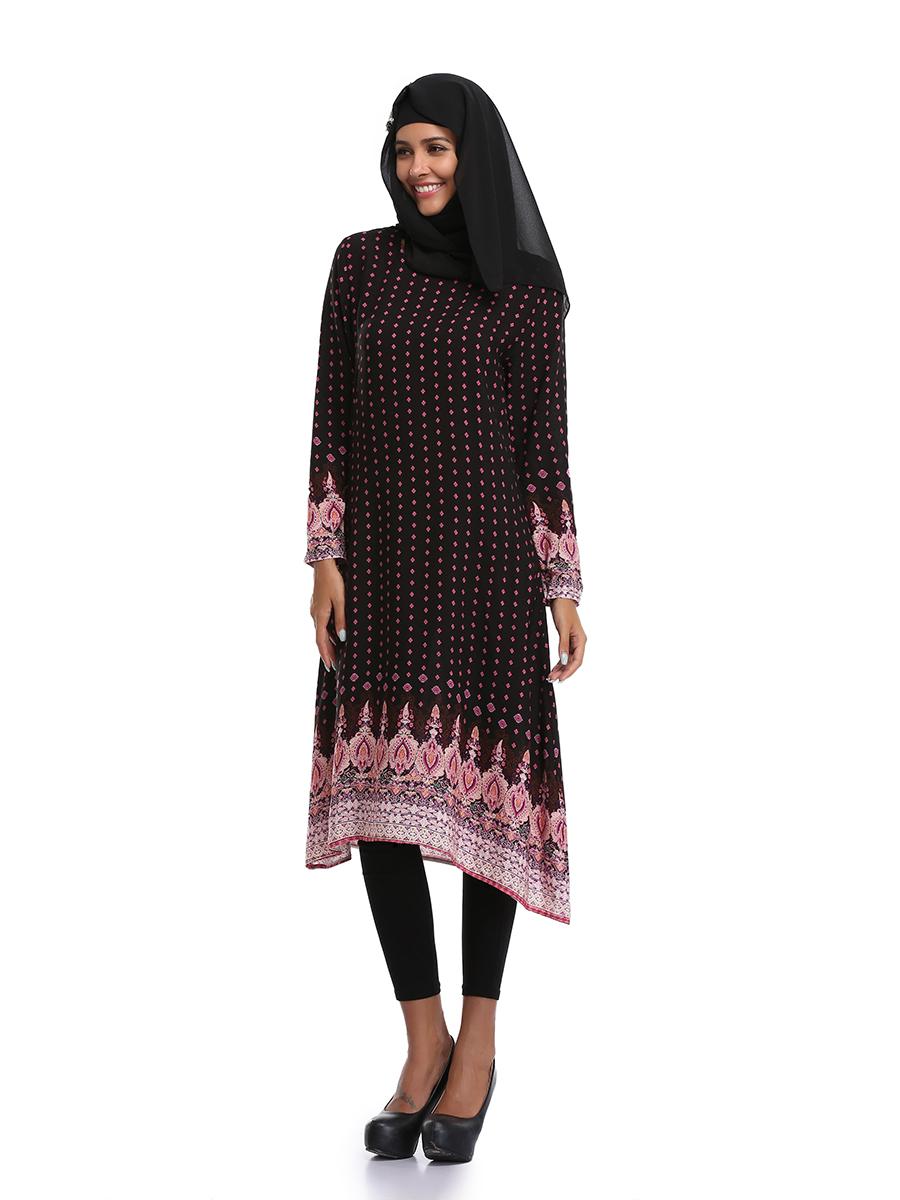 Muslim women kaftan islamic jilbab vintage abaya arab maxi dress party clothes ebay Retro style fashion for muslimah