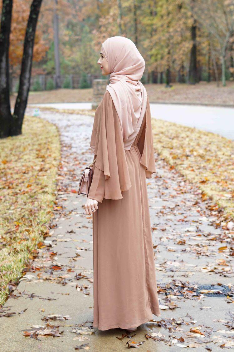 Women Muslim Cape Abaya Cloak Jilbab Islam Long Sleeve