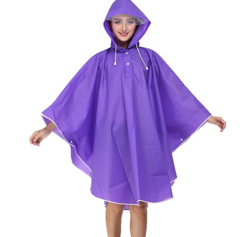Bike Cycling Raincoat Rain Cape Poncho Hooodie Waterproof Windproof Rain Cover