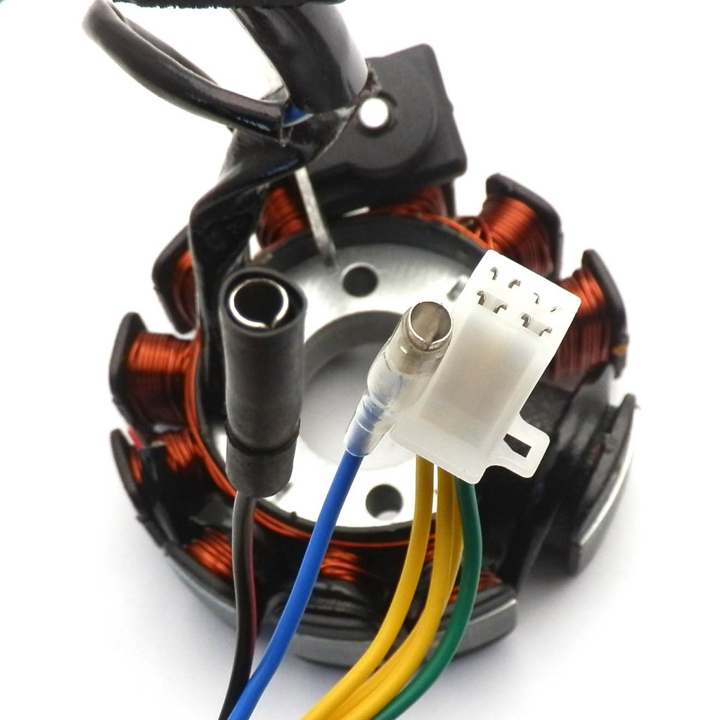 9735567dc7513e07 performance 11 pole dc magneto stator regulator wiring harness gy6 scooters performance wiring harness at gsmx.co