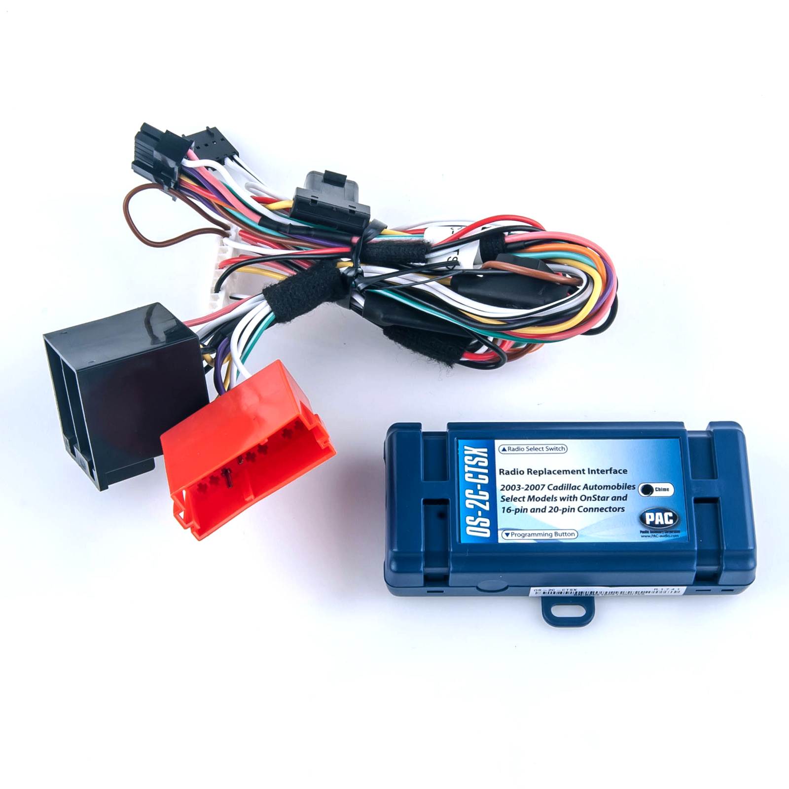 Pac Os 2c Cts Onstar Radio Replacement Wiring Interface Harness Cadillac Distributor Ctsx Srx