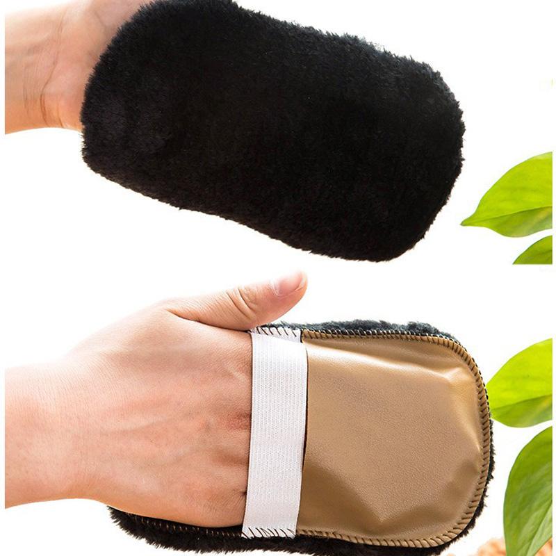Brosse souple fourrure peluche soin de chaussures cuir for Nettoyage canape cuir