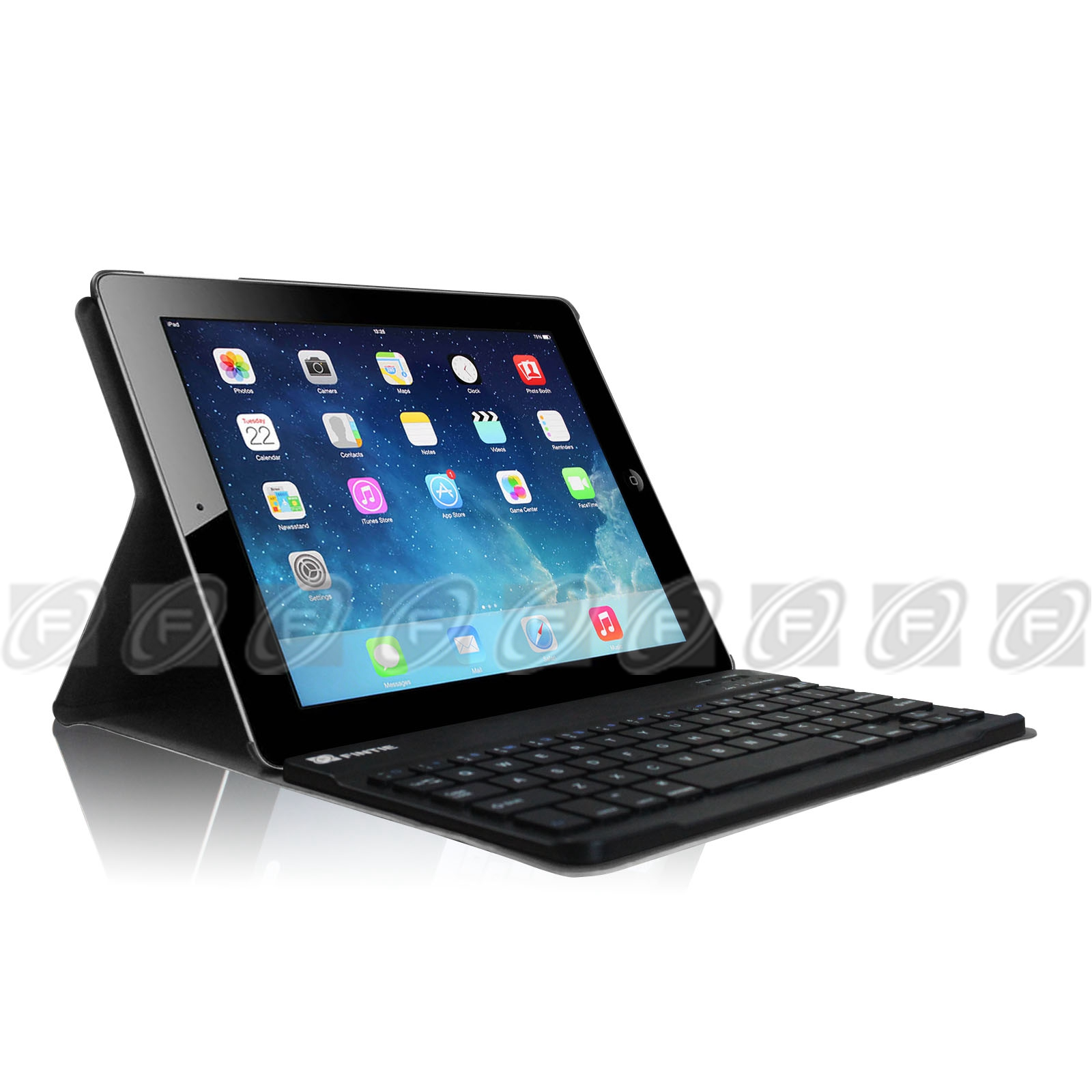 Fintie Ipad 2 3 4 Slim Stand Cover Wireless Removable