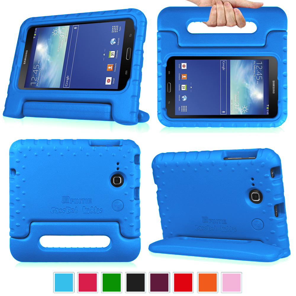 ee74d30684f For Samsung Galaxy Tab E Lite   Tab 3 Lite 7.0 Case Cover Stand Kids  Friendly