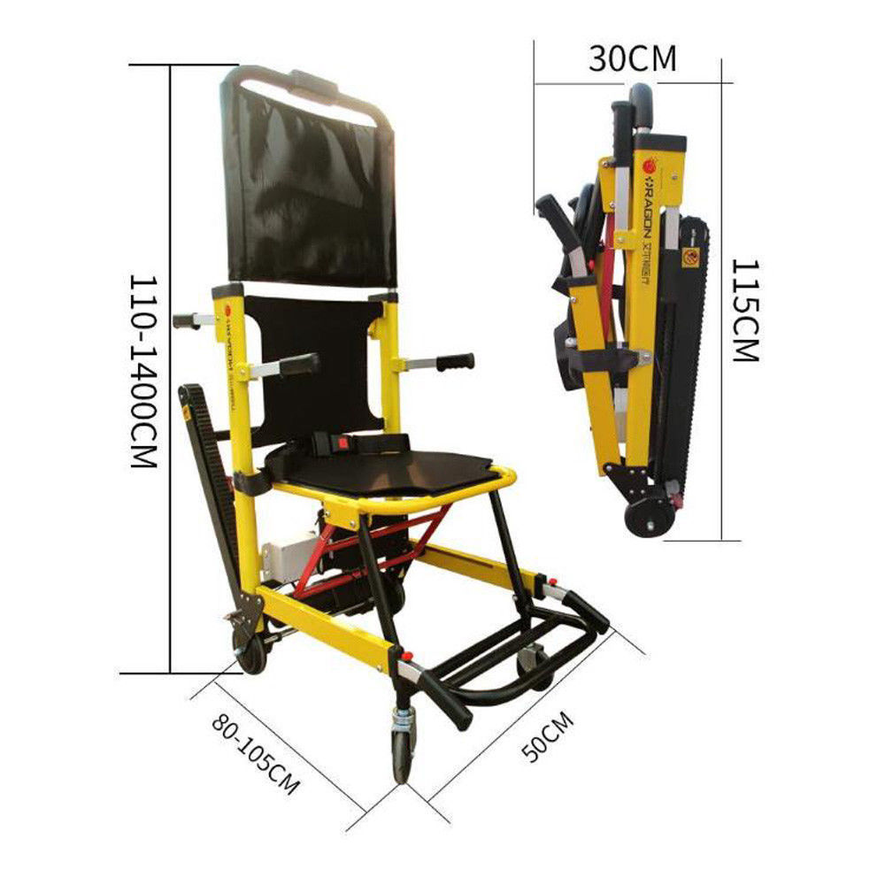 Portable Stair Lifting Motorized Climbing Wheelchair Stair