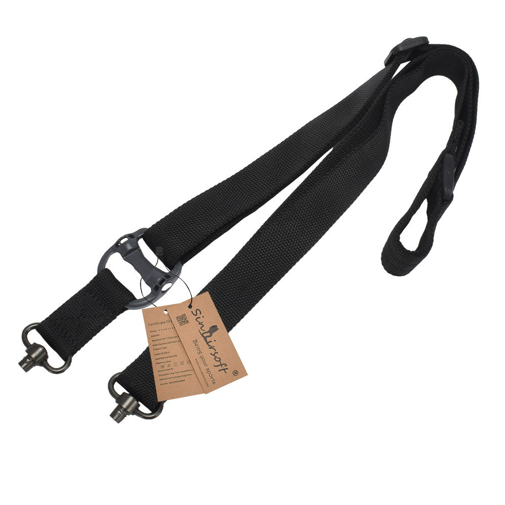 Single Point Bungee Sling Climbing Rope Safety Lanyard Quick Release Tactical BJ