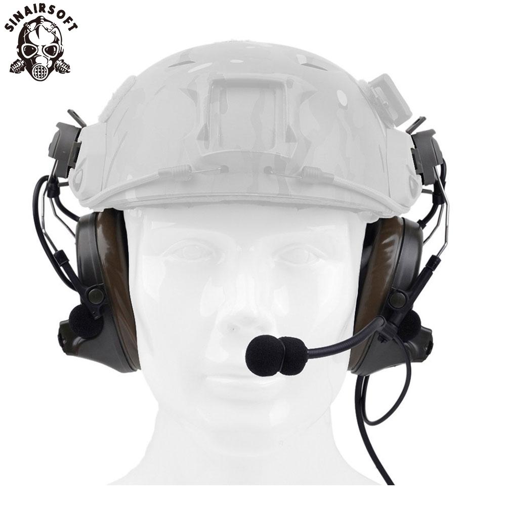 Z-TAC Peltor Comtac II Headset Anti Noise Reduction Aviation Headphone
