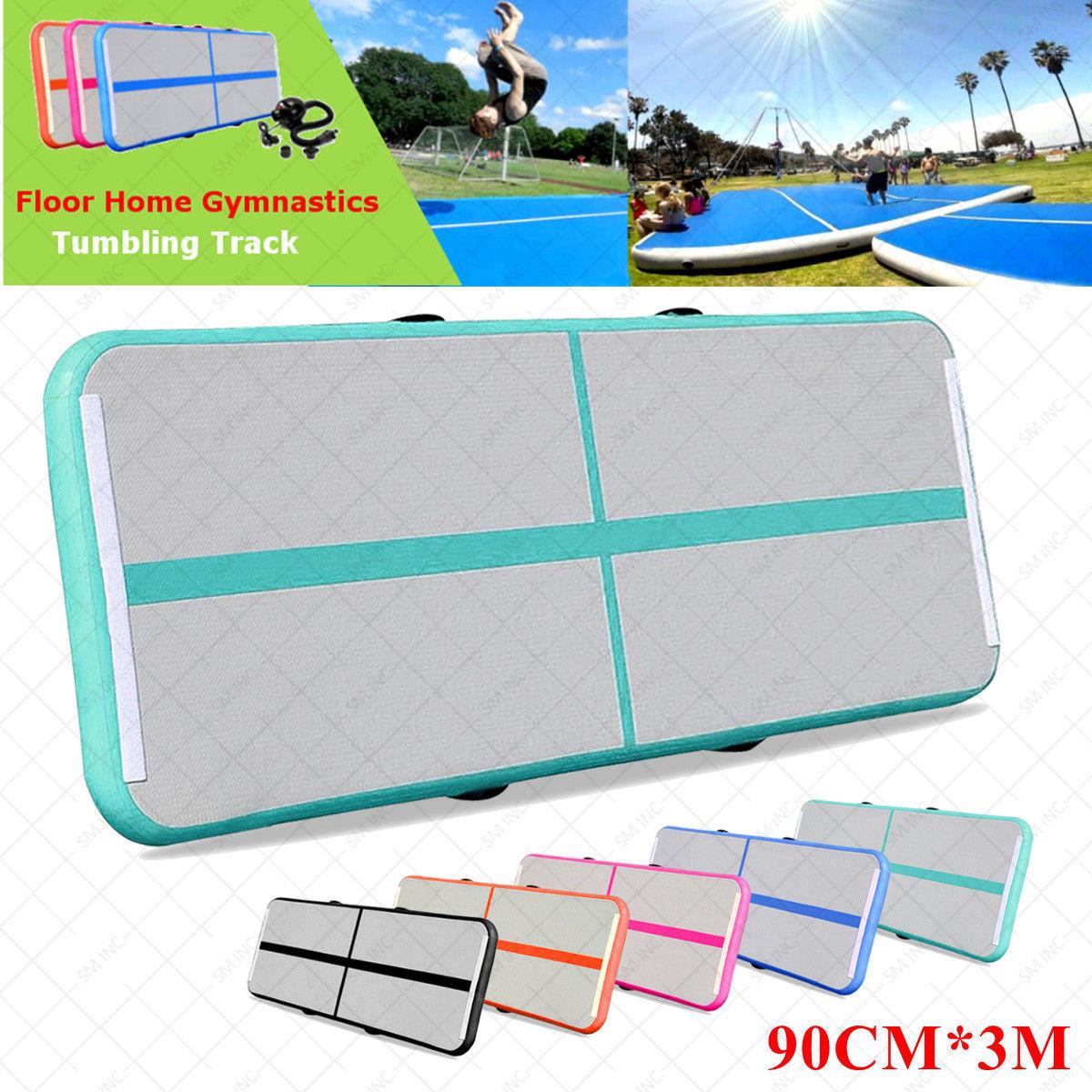 Home Gymnastics Tumbling Air Track Floor Mat Inflatable