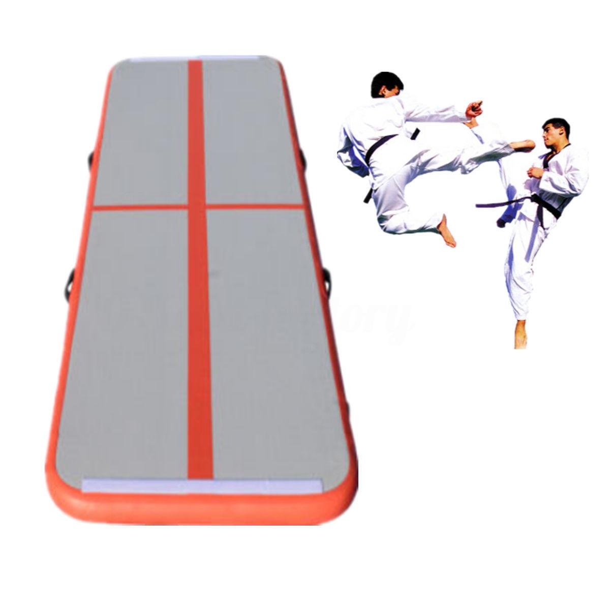 inflatable air track aufblasbar air tumbling track gymnastikmatte yogamatte gym ebay. Black Bedroom Furniture Sets. Home Design Ideas