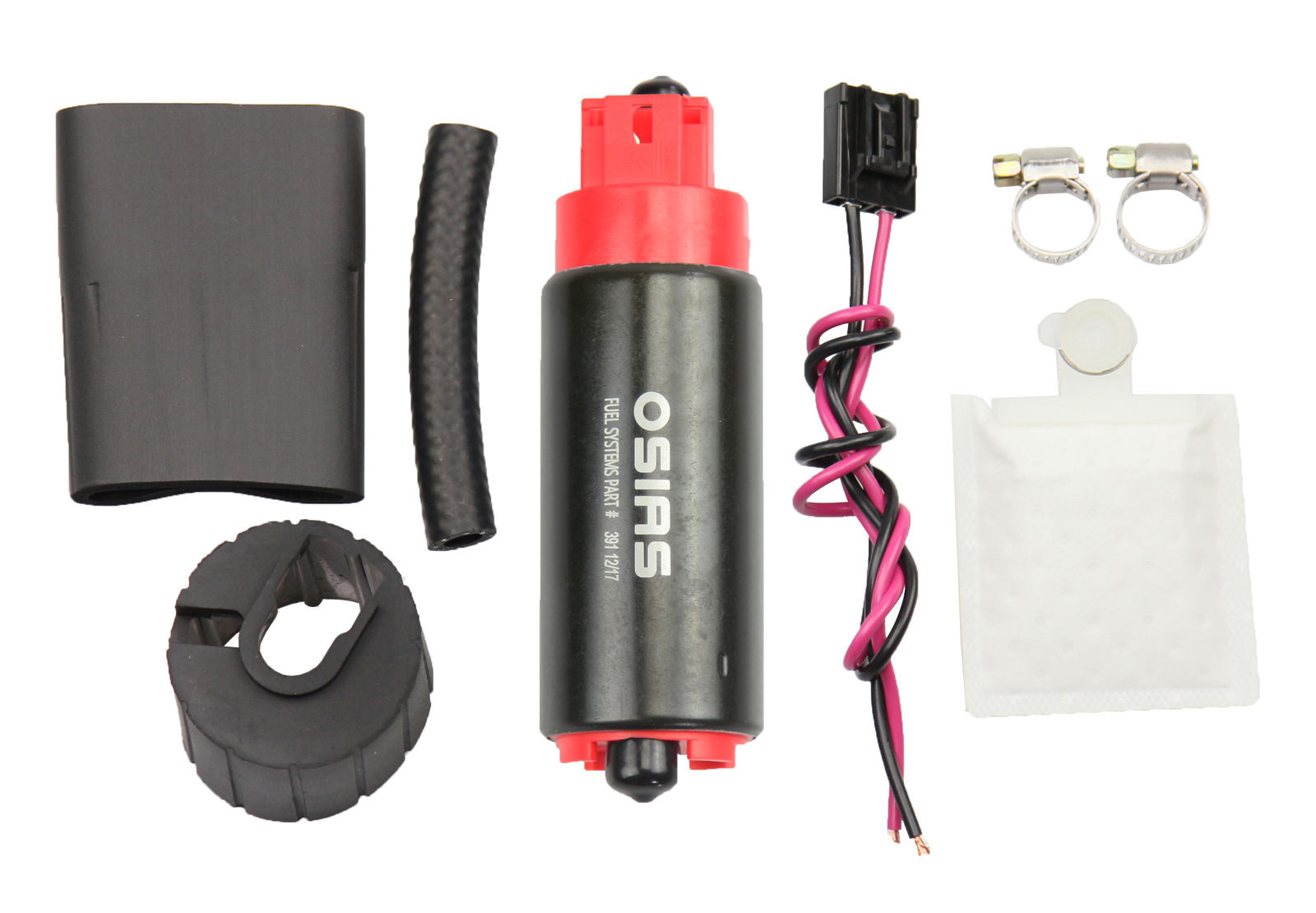 340LPH New High Performance Fuel Pump With Install Kit GSS341 Replacement OSIAS