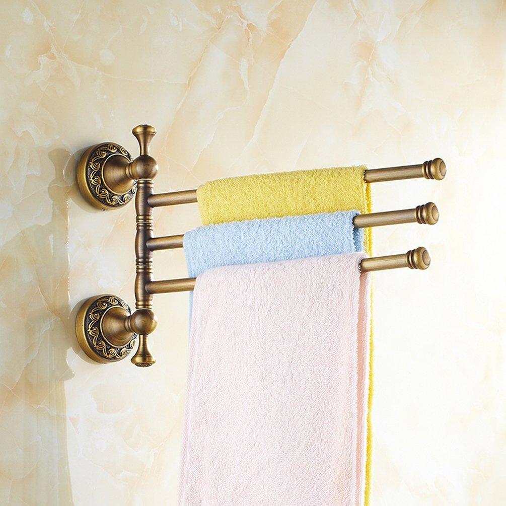 Retro Antique Brass Bath Accessory Towel Rail Holder Storage Rack Rack Holder Ebay