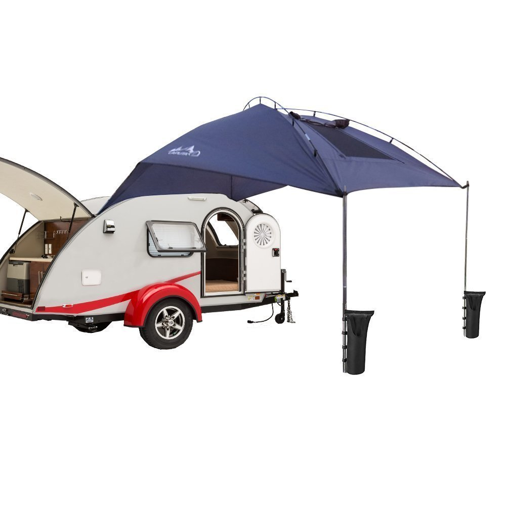 rv complete vista shade awnings screen notch awning electric kit extender extension screens top canopy photo posts for