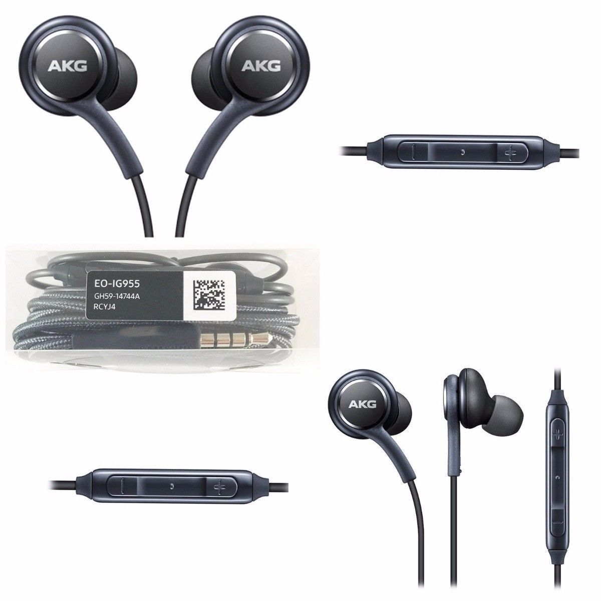 Oem Samsung Akg Earphones Headphones Headset Ear Buds For S9 S8 S8 Note 8 9 J7 Ebay