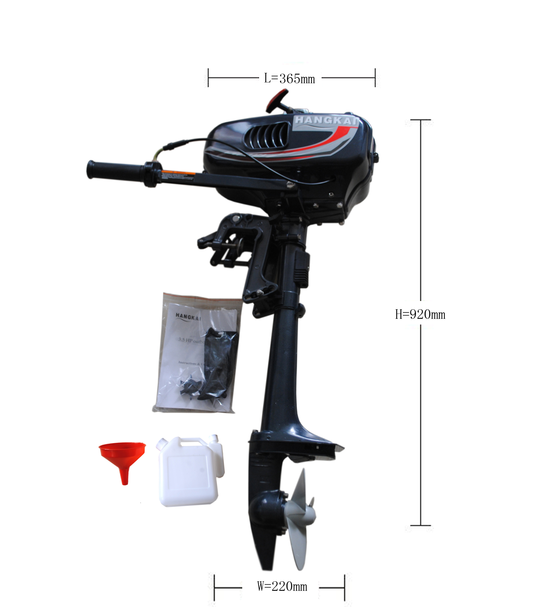 New mariner mercury 49cc stroke outboard engine for 5 hp motor specification