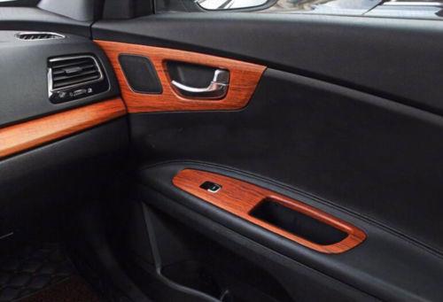 60cm X 120cm Car Interior Wood Grain Textured Vinyl Wrap Sticker