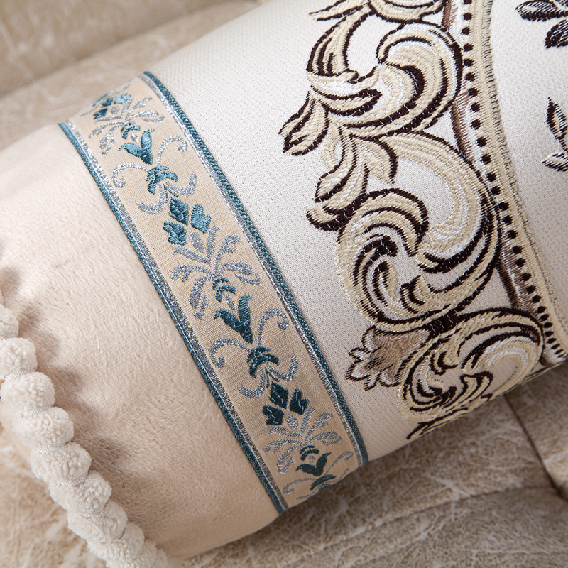 Decorative Pillow Cover Model : Beige Vintage French Country Flower Cushion Cover Home Decorative Pillow Case eBay