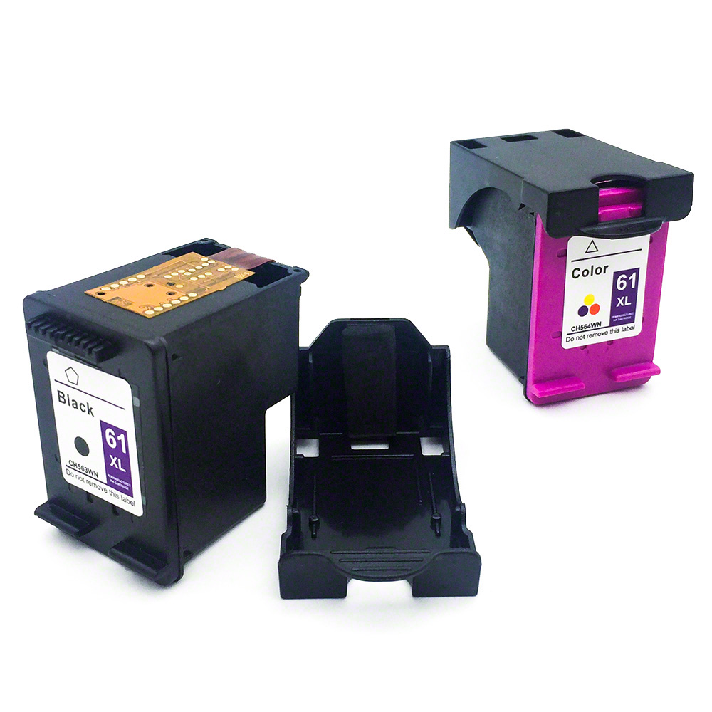 2x Ink Cartridge For HP 61XL Printer 4500 4630 2620 4504