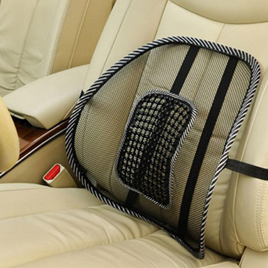 auto b ro sitz stuhl massage r cken lordosenst tze mesh. Black Bedroom Furniture Sets. Home Design Ideas