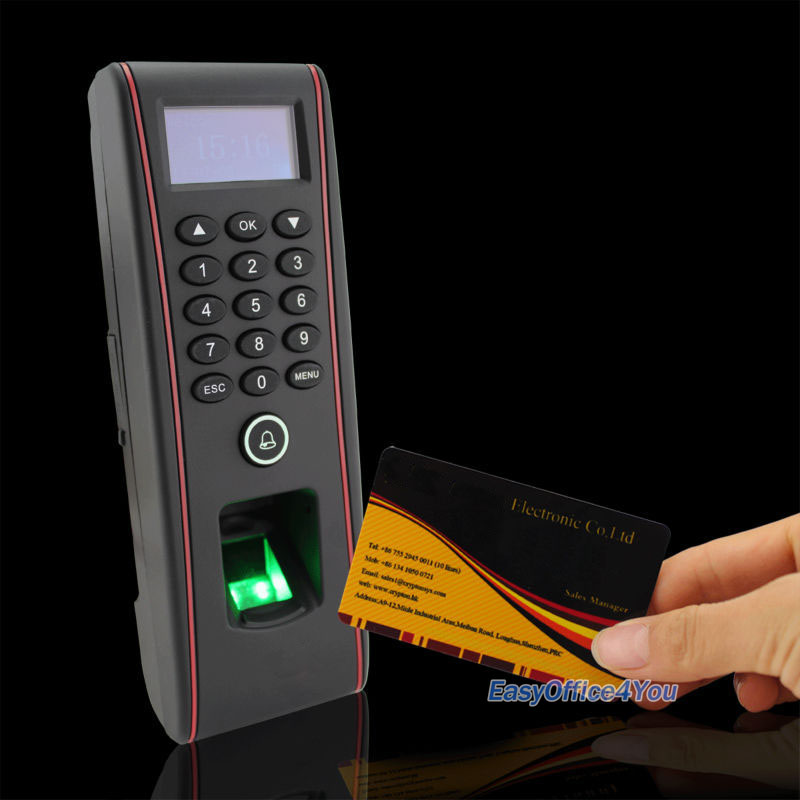Détails : ZK Biometric fingerprint Entry & Exit Access control Kits ZKTeco  TF1700 + RF1200
