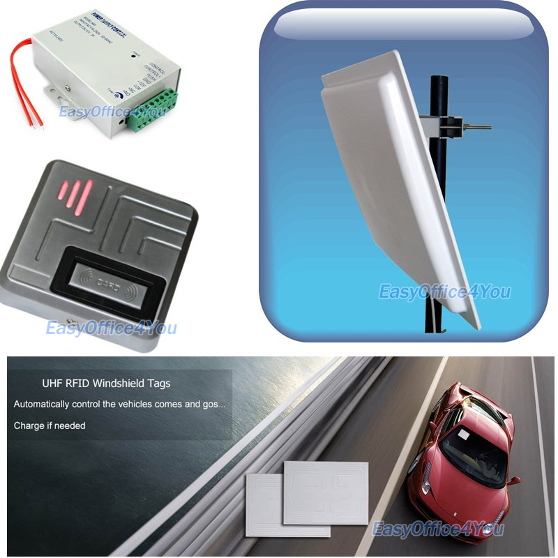 Car Access Control System Uhf Rfid Long Distance Parking