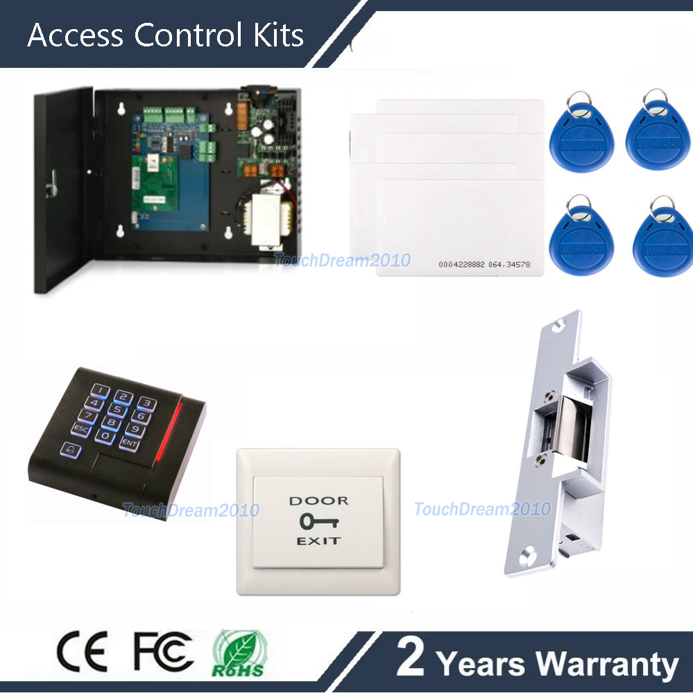 Single Door Access Control System Control Panel+PIN Reader