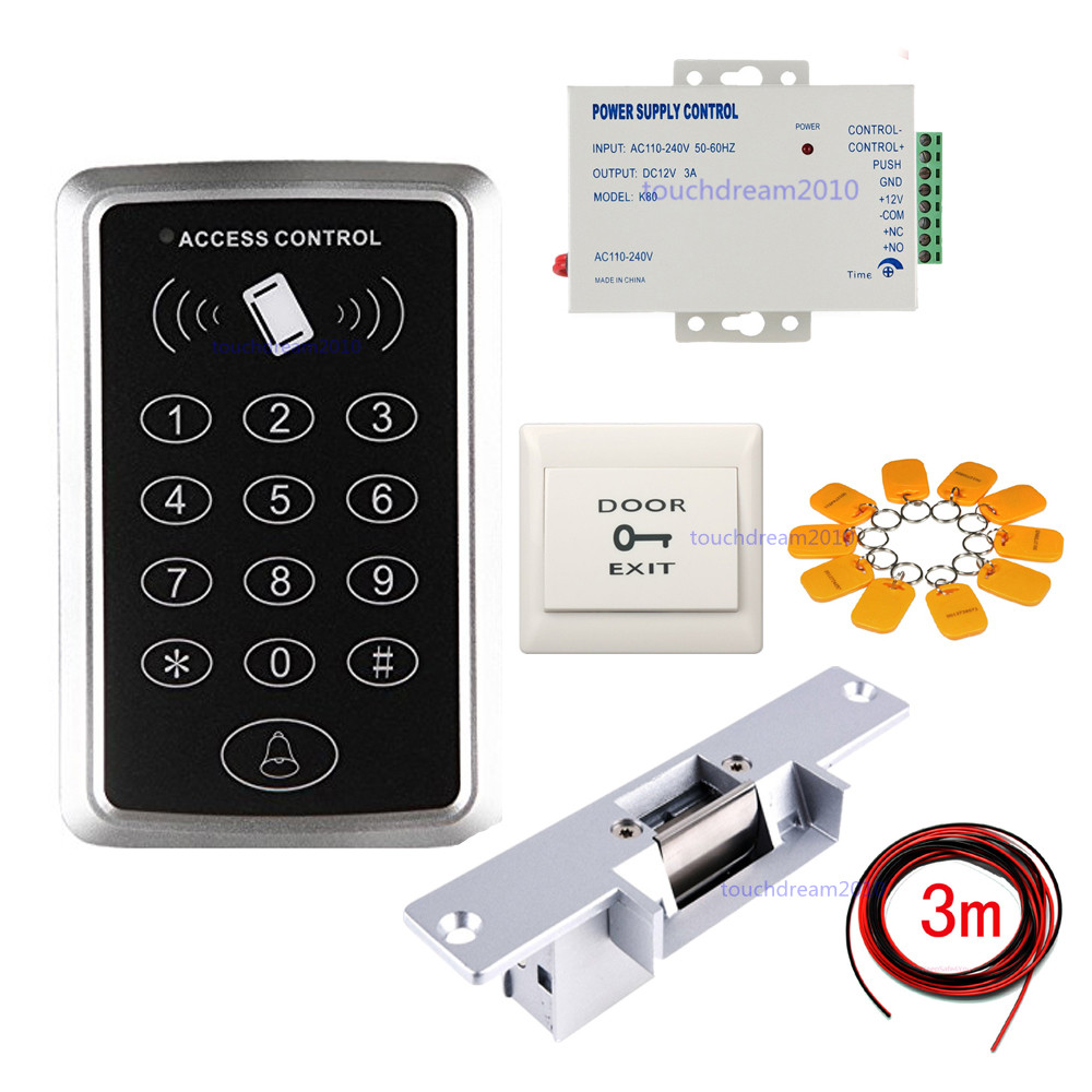 UHPPOTE 125KHz RFID ID Full Complete Keypad Single Door Access Control Kit...