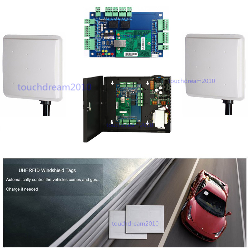 Double Way 16-23ft Long Distance UHF Card Reader Parking Control ...